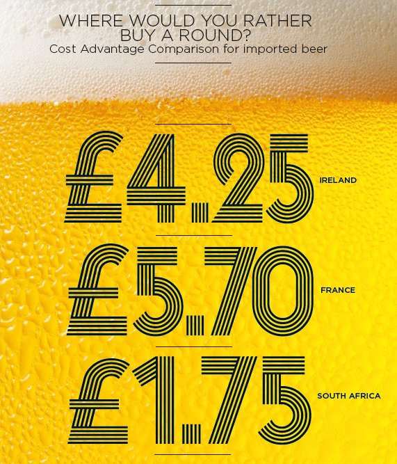 Beers on us!! #SA2023 the recommended choice to host #RWC2023 https://t.co/xY5em4CK0m
