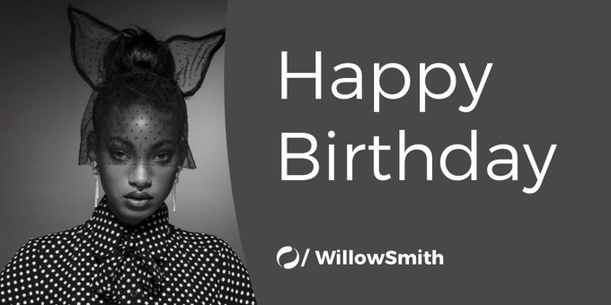 Can you whip your hair like Willow Smith? Happy Birthday,
