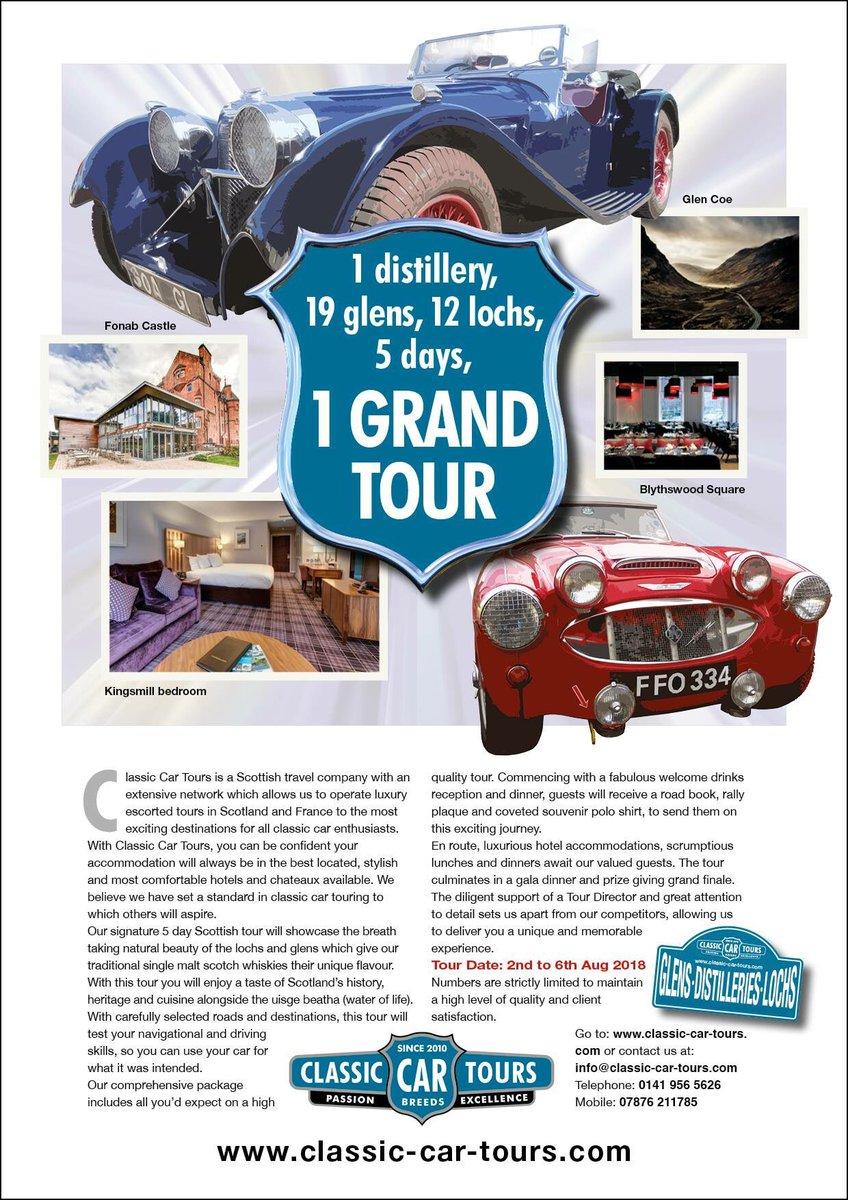 Classic Car Tours (@CCT_Ecosse) | Twitter