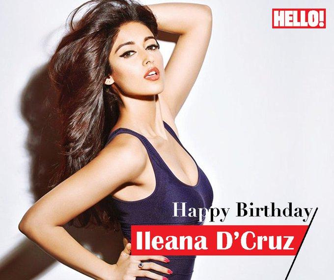 HELLO! wishes Ileana D Cruz a very Happy Birthday