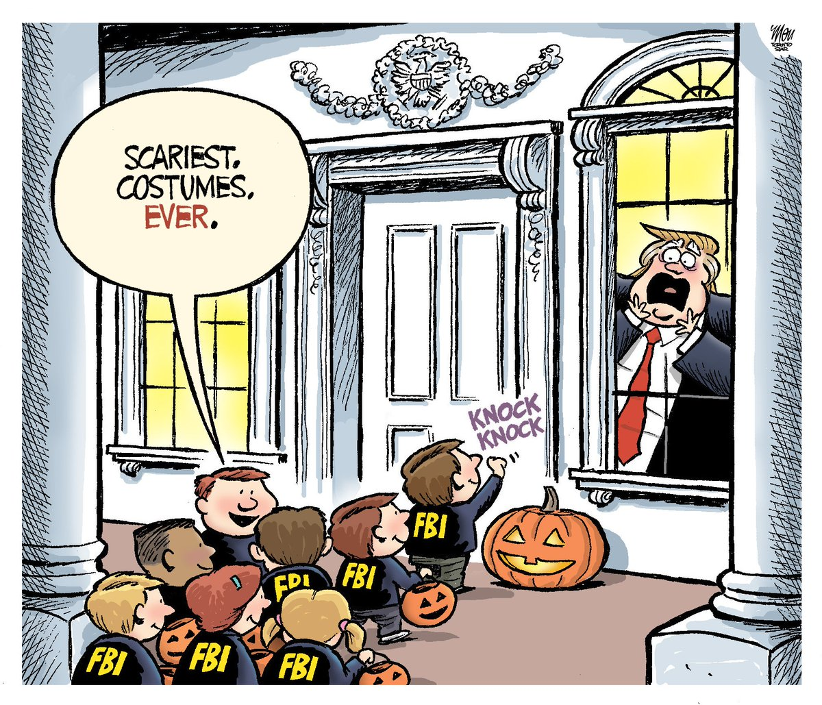 Here's today's #DonaldTrump #Halloween  cartoon in @TorontoStar