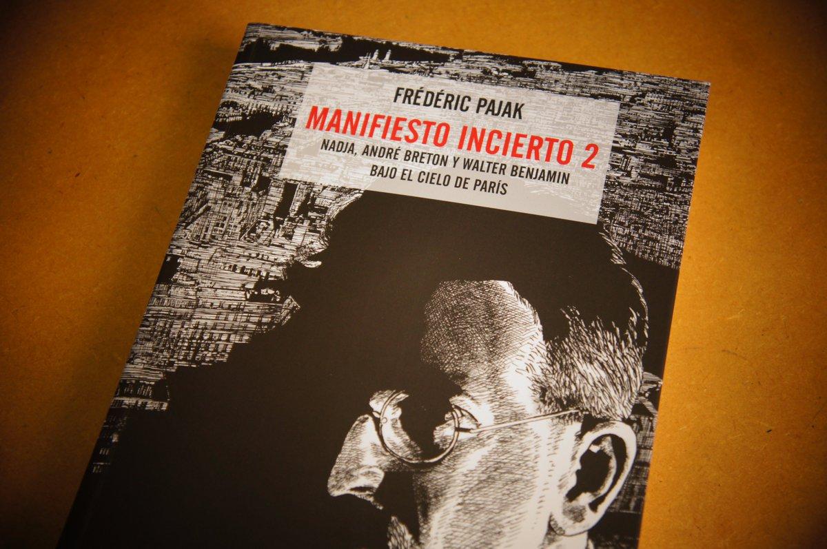 Ya está aquí: Manifiesto incierto II, Frédéric Pajak. @Erratanaturae