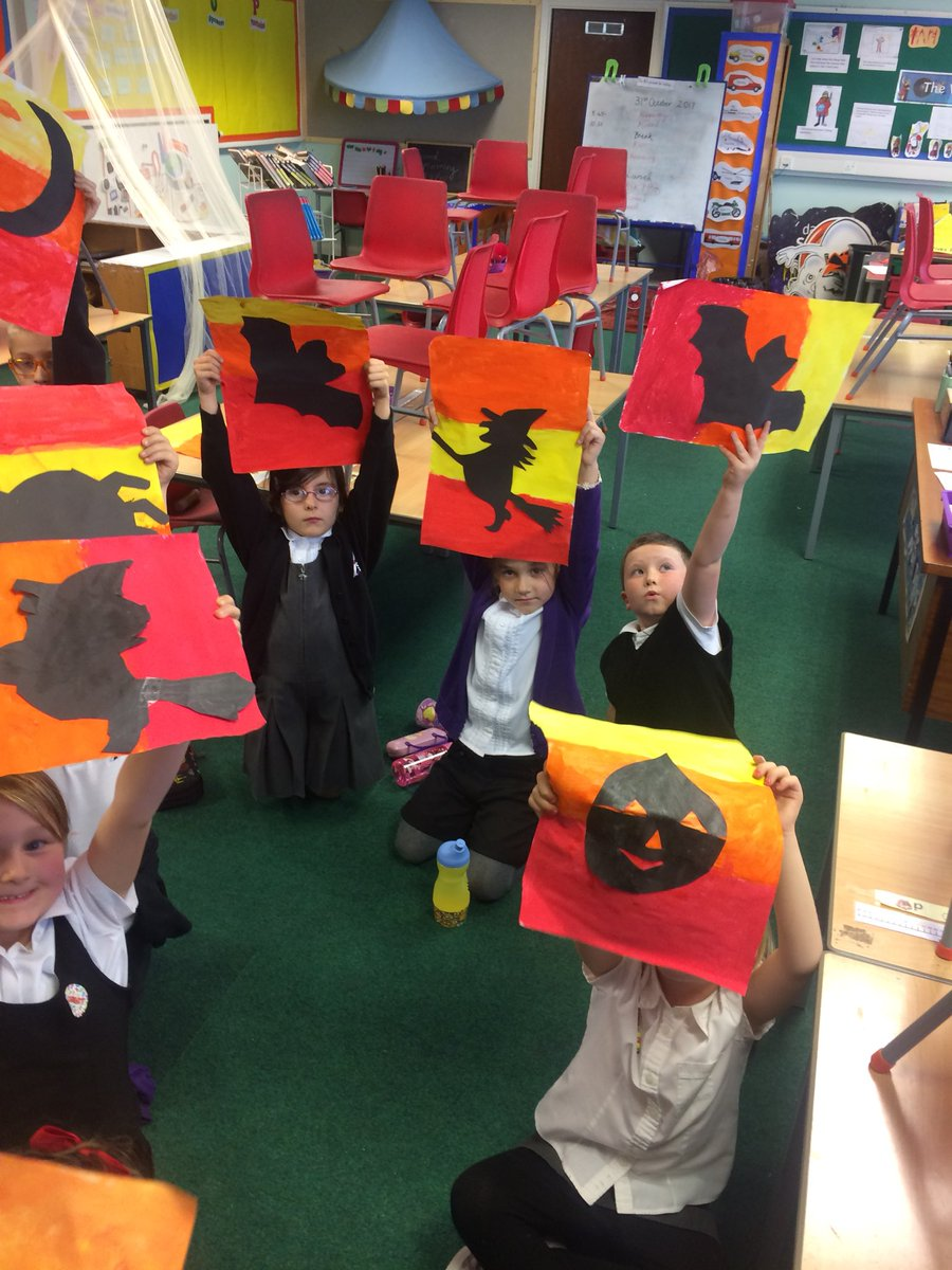 "st. gabriel's school on twitter: ""happy halloween from p3/2. we"