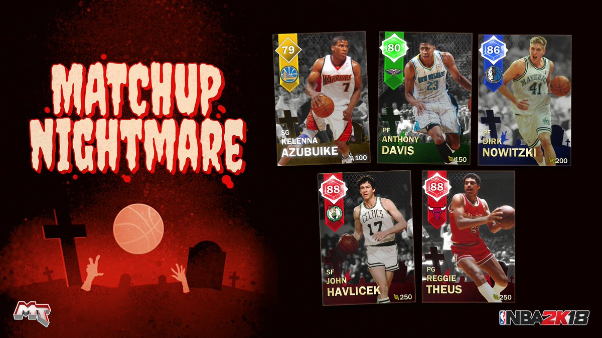 Nba 2k20 Myteam On Twitter Matchup Nightmare Players Are