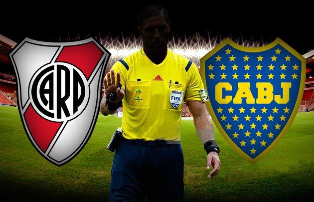 Superliga | Está confirmado el árbitro para el superclásico del domingo