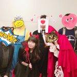 あやラジでハロウィンパーティをしたときの写真です!みんなちゃんと仮装してくれた!うれしい!ハッピーハ…