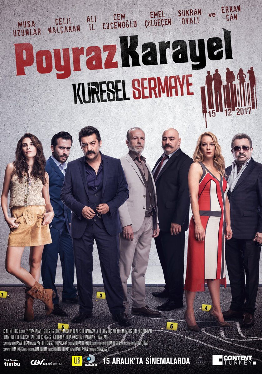 #PoyrazKarayelKüreselSermaye 15 Aralık'ta Sinemalarda! #Afiş #ContentTurkey #PoyrazKarayel