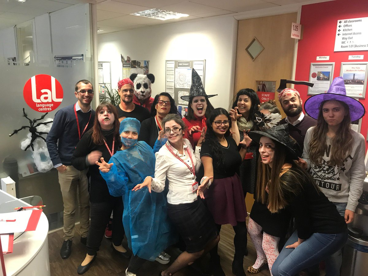"lal language centres on twitter: ""celebrating halloween at lal"