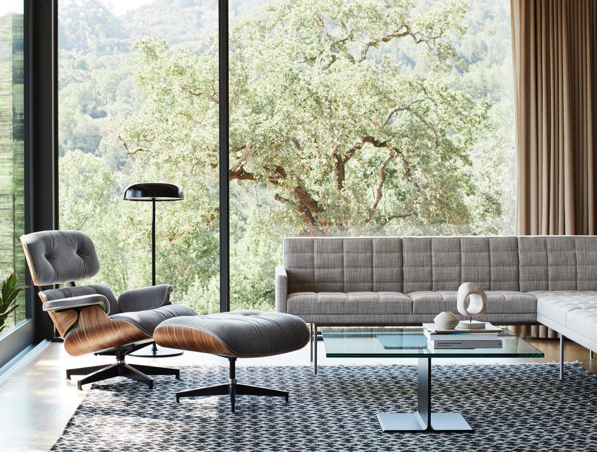 "Eames Lounge Chair Living Room herman miller on twitter: ""the eames lounge chair in mohair"