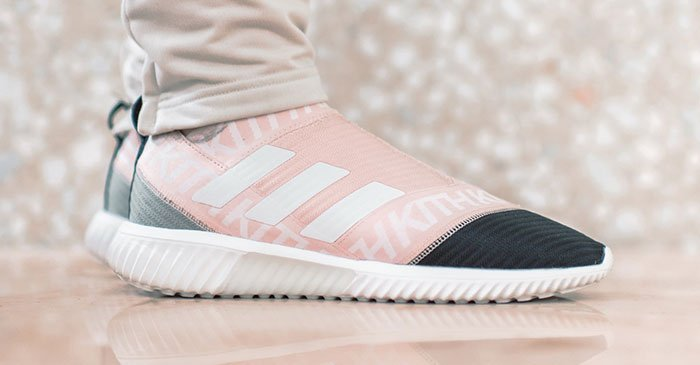 b741a9b0d here s your very first on foot look at kithset s adidas nemeziz miami  flamingos