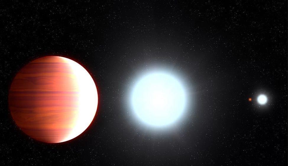 Conheça Kepler-13Ab, o planeta em que há neve de 'protetor solar'´: https://t.co/cZU1EYSVMT