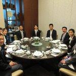 【日本に帰国しました。空港側のレストランで青年海外協力隊隊員から活動の様子を伺いました。感動です。隊…