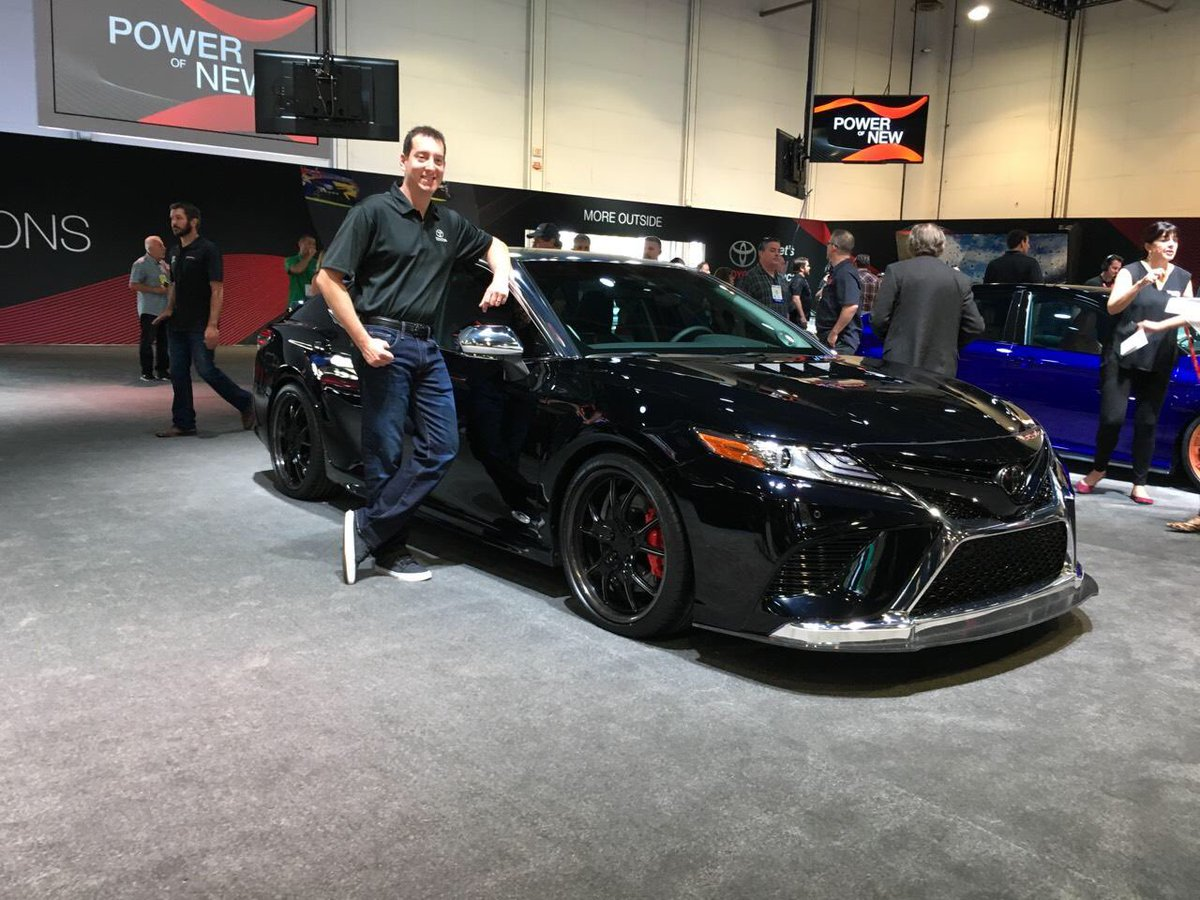Kyle Busch On Twitter Out Here At Semashow With My 2018 Toyota Camry Build What Do U Think