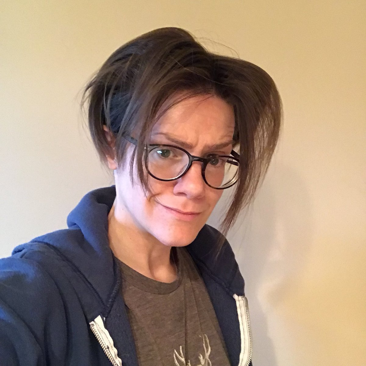 Cameron Esposito On Twitter Oh Cool Accidental Hair Stume