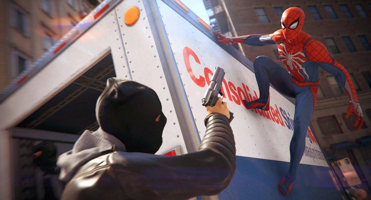Spider-Man PS4 Paris Games Week 2017 Teaser