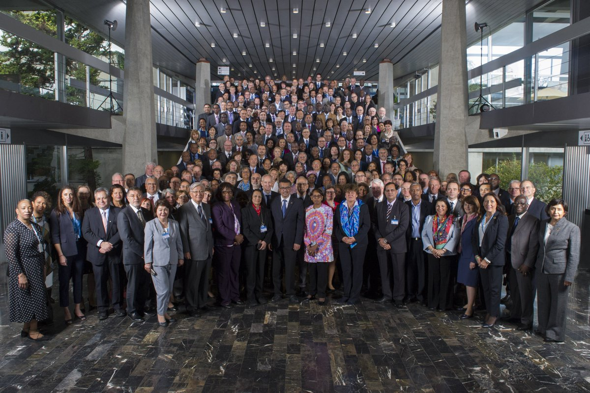 Meeting of @WHO country representatives:  results occur at the country level! https://t.co/l8wBgzse3F