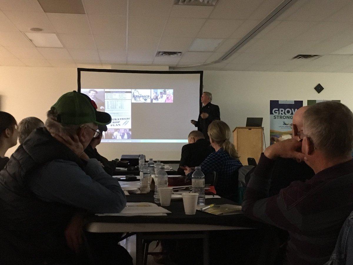 """Bad agronomy+precision ag = bad agronomy applied precisely"". Good agronomy is invaluable #growteam @rsaik @PrairiesN<br>http://pic.twitter.com/OtPL59ojQW &ndash; à Barrhead, AB"