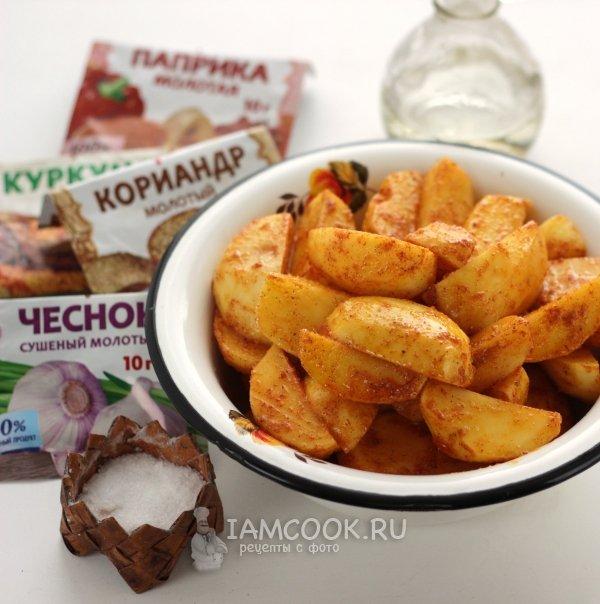 Рецепт картофель с тушенкой