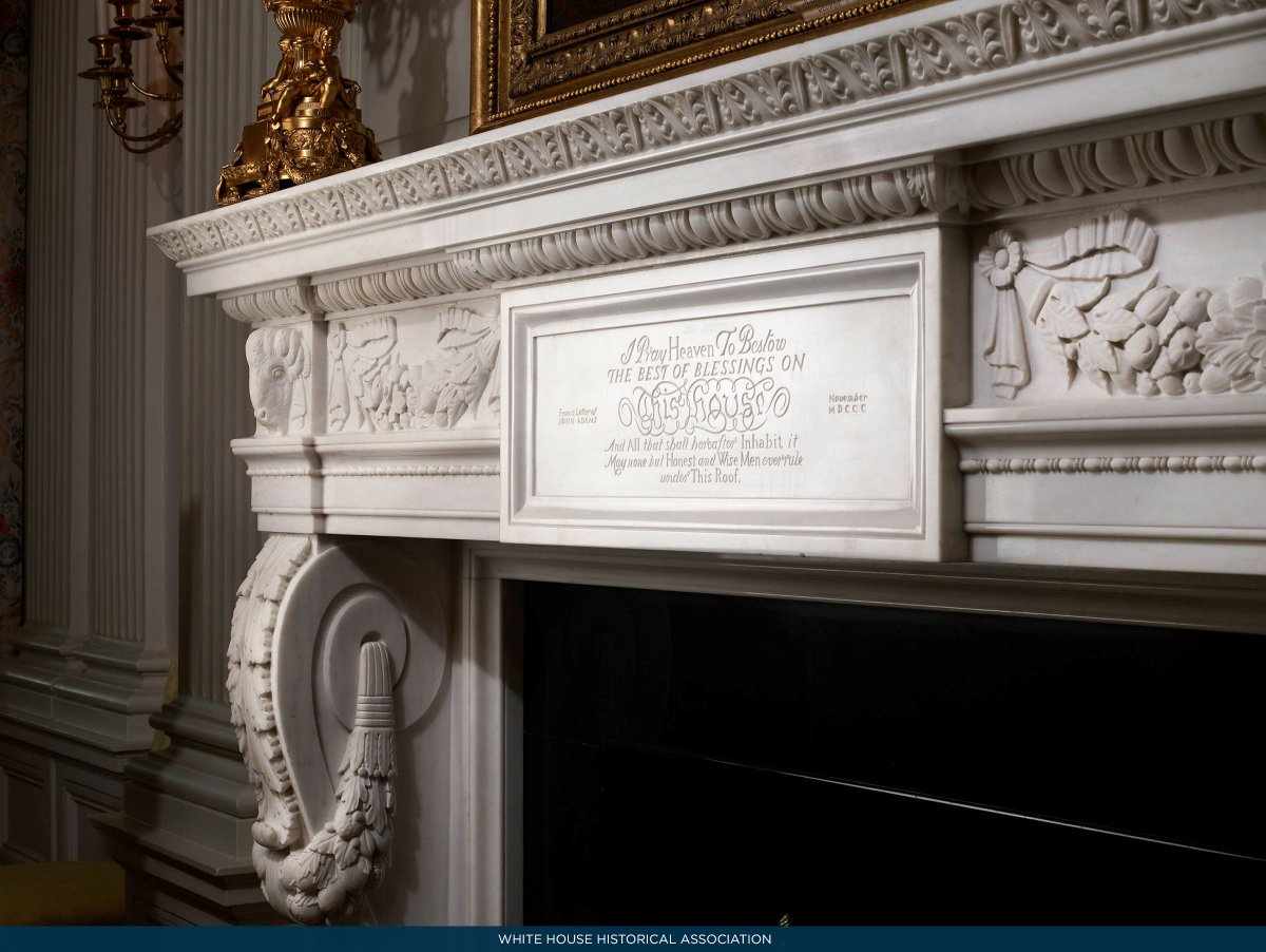 White House History On Twitter President Adams Prayer For The Which He Made Soon After Moving In Nov 1 1800 Is Inscribed State