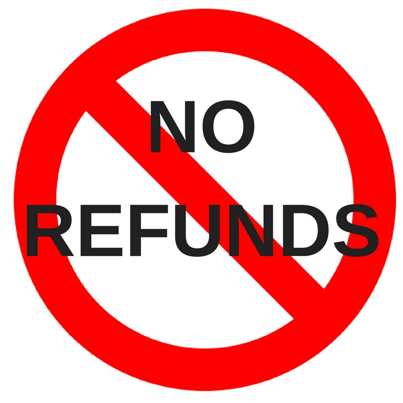 Did you know that it's unlawful for a business to display a 'No Refunds' sign?  http:// ow.ly/9DsH30g9ZJX     #FTWeek pic.twitter.com/edu7VSRrOk