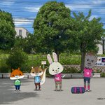 11/3(金・祝)フジテレビ「めざましテレビ」内のコーナー「紙兎ロペ」に中村憲剛選手が登場! 今回、…