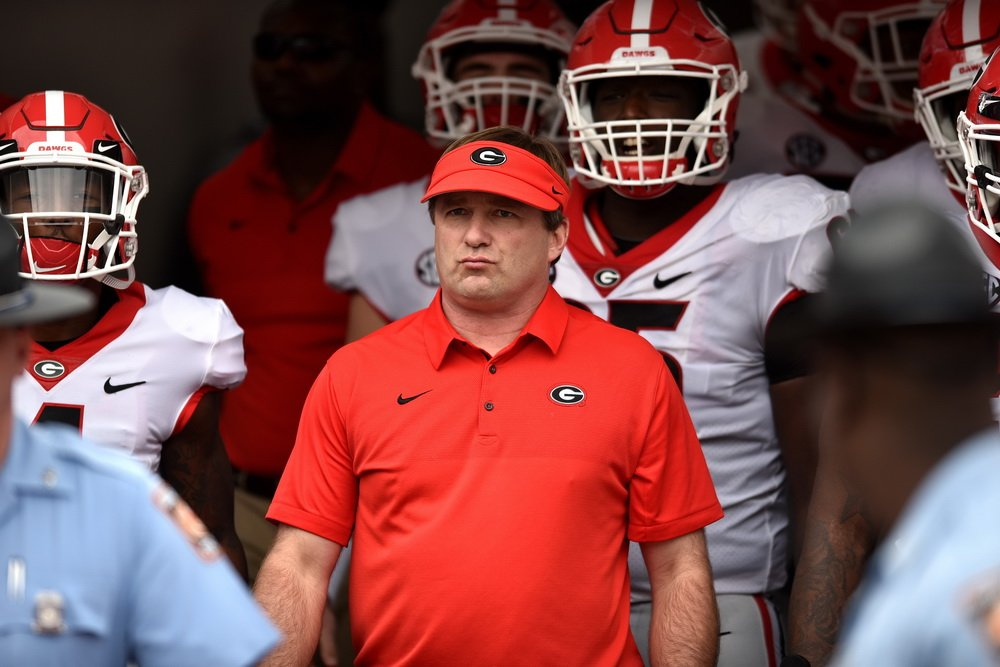 #UGA is ranked No.  1 in the initial College Football Playoff Rankings
