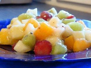 Вкусный фруктовый салат рецепт