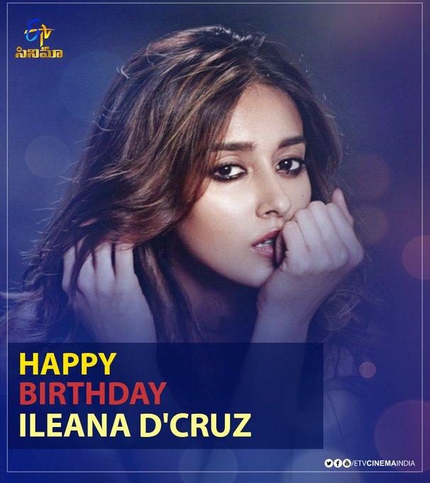 wishes Ileana D\Cruz a very Happy Birthday!