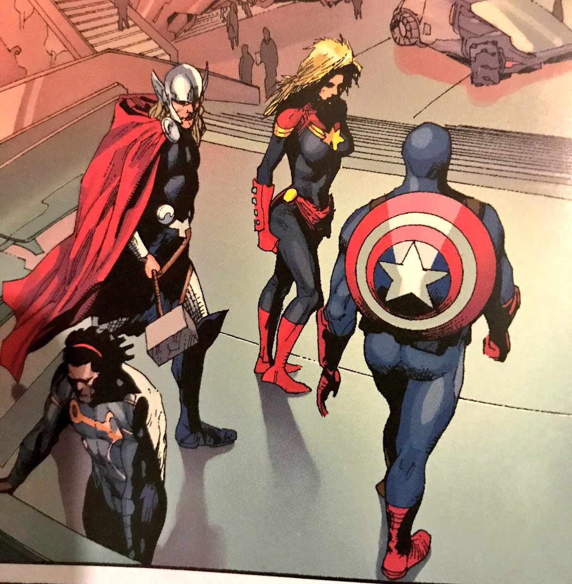 "✵ captain marvel news ✵ on twitter: ""re-reading #infinity event"