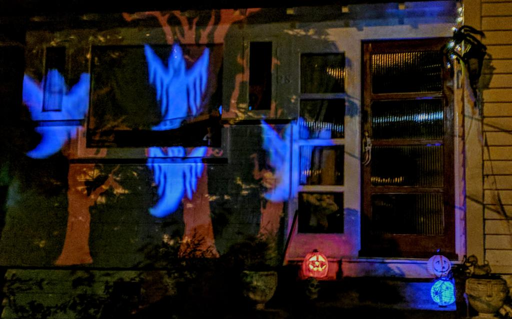 Spooktacular at our place last night.......