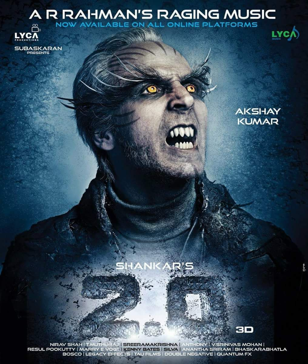"""Avatar 2 Movie Release: Zee Tamil On Twitter: """"2.0 New Posters"""