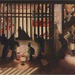 北斎の娘・葛飾応為の「吉原格子先之図」が、あべのハルカス美術館で開催中の「北斎ー富士を超えてー」展に…