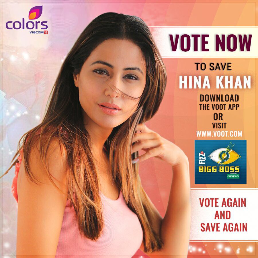 Hina Khan On Twitter Voteagainsaveagain Hinaonbiggboss