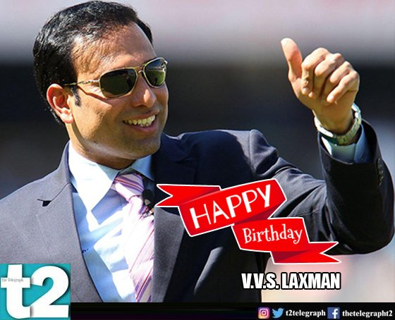 He was a pillar of Team India\s middle order. Happy birthday to V.V.S. Laxman!