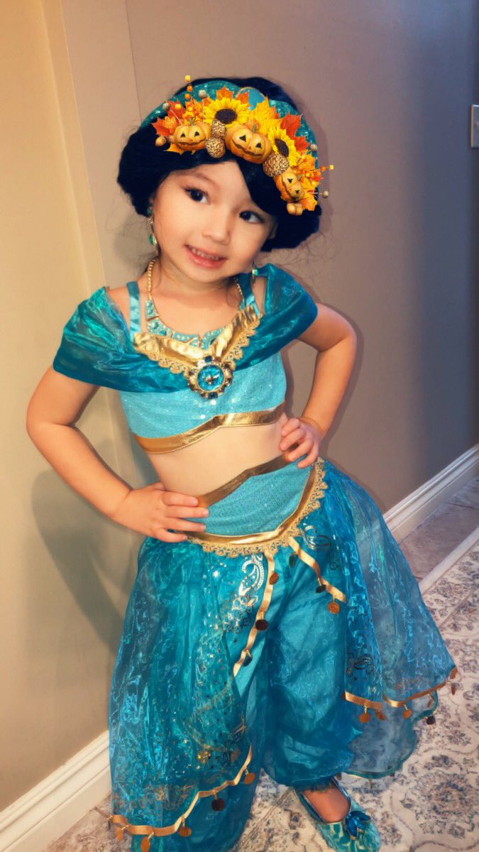 Josh Harrellson on Twitter  My little girl had the best costume! She loves being Disney princesses #PrincessJasmine #PrincessAri @Disney @Disneyland who ...  sc 1 st  Twitter & Josh Harrellson on Twitter: