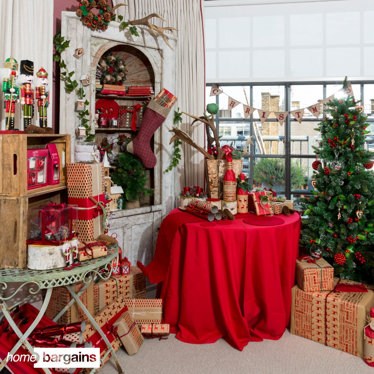 Christmas Decorations At Home Bargains
