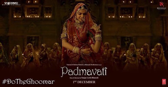 announcing my favourite #DoTheGhoomar entry tomorrow!!!👏🏽 👏🏽👏🏽have you shared your video yet? @Filmpadmavati https://t.co/EfNolICZBB