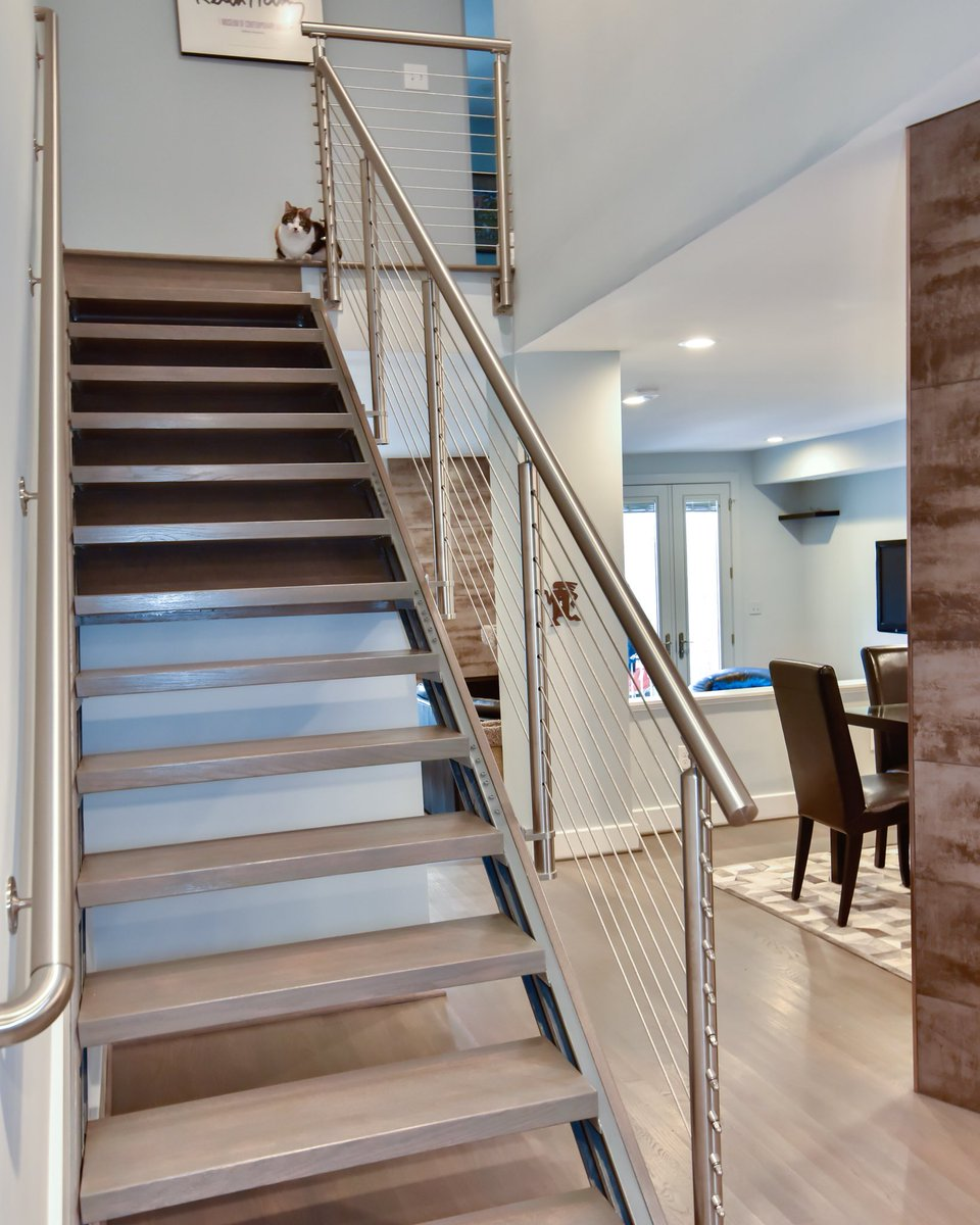 Stairs Have Long Been An Essential Element Of A Home. Designers Are  Starting To Focus Designs Around Showcasing Stair Systems. #design #vapic.twitter.com/  ...