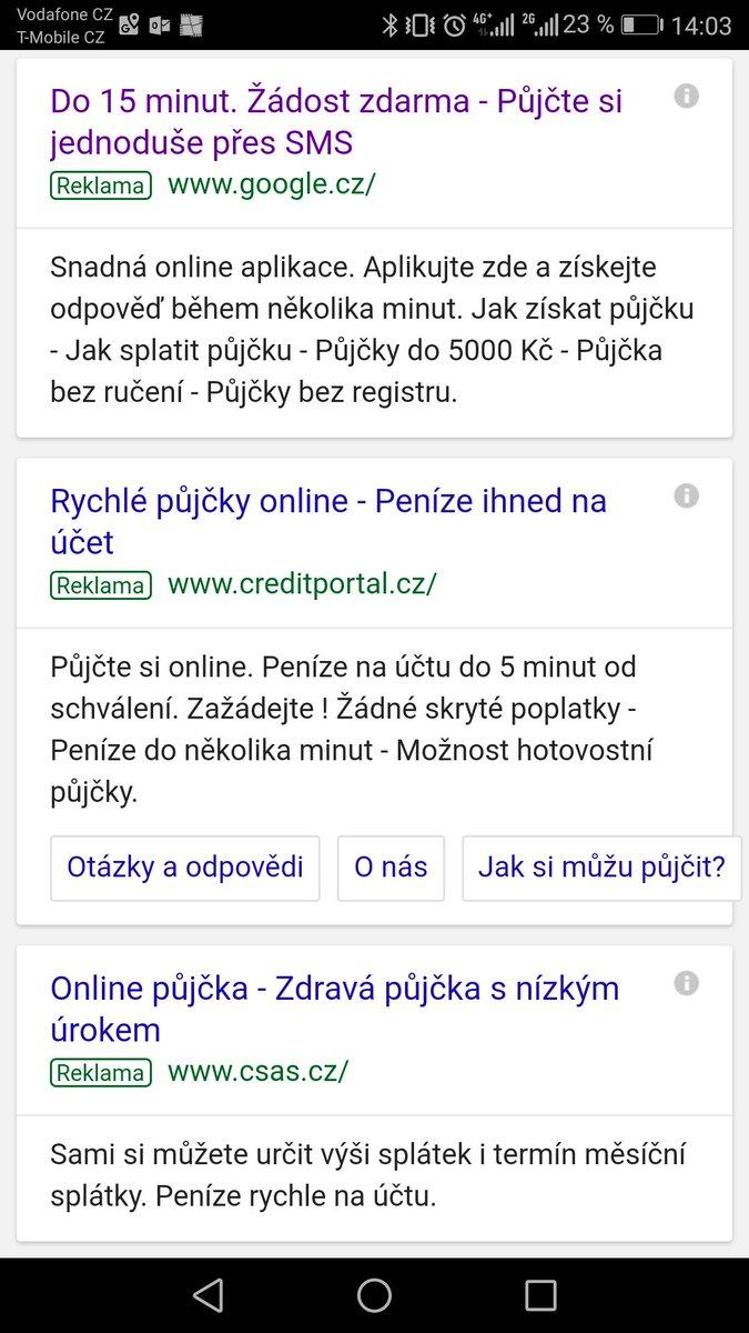 Online pujcka ihned cvikova
