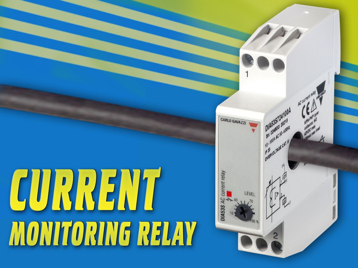 Carlo Gavazzi Inc On Twitter Dia53 Series Self Powered Ac Current Level Relay Monitor For Loads Up To 100aac Exceed Set Point And Get A Transistor Output