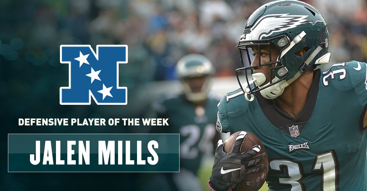 Congrats to @greengoblin, named NFC Defensive Player of the Week! #FlyEaglesFly   ��: https://t.co/ZmjQ2Vffhr https://t.co/xhbY49IDxz