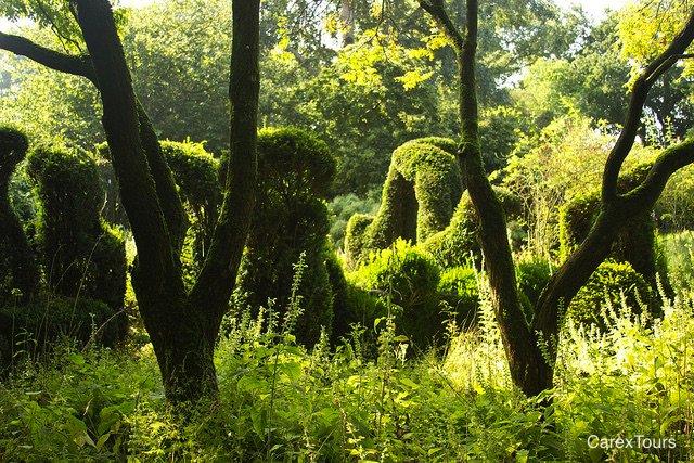 henkgerritsens abstract topiary at his wild garden priona dutchwave gardentour carextours httpswwwfacebookcomgdbycm pictwittercom
