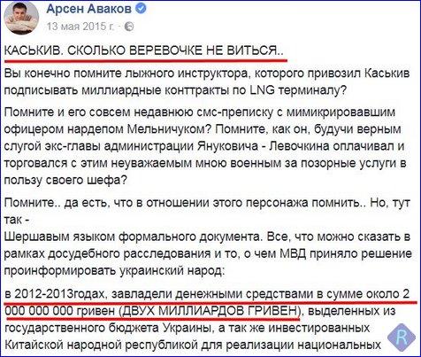 За арестованного Каськива внесен залог, - Сарган - Цензор.НЕТ 9493