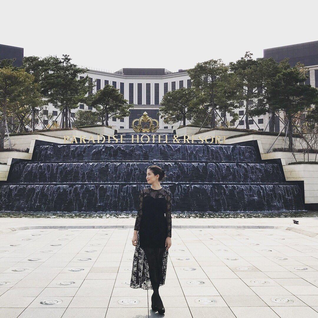 韓国での橋本マナミ