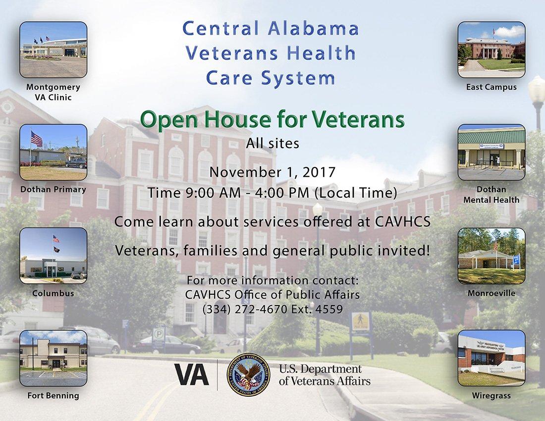 Rep Bradley Byrne On Twitter Today Is An Open House For Veterans