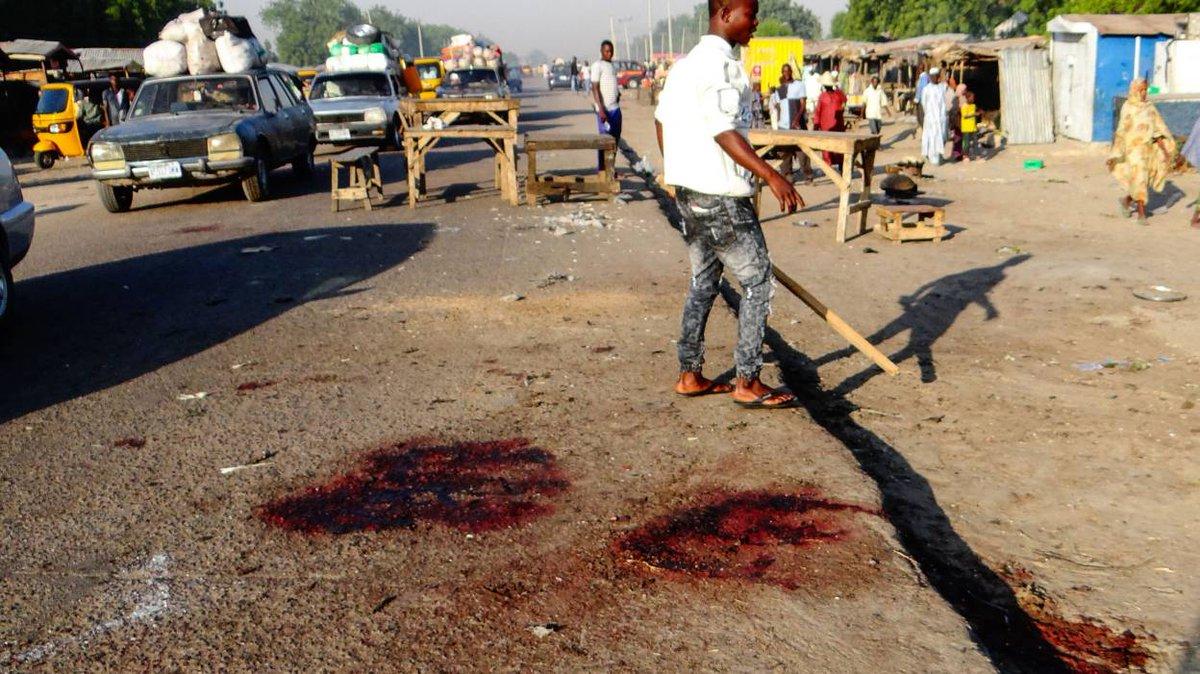🇨🇲 #Cameroun Attentat suicide : une fillette se fait exploser et tue 5 enfants. https://t.co/GaPCF4fEEl