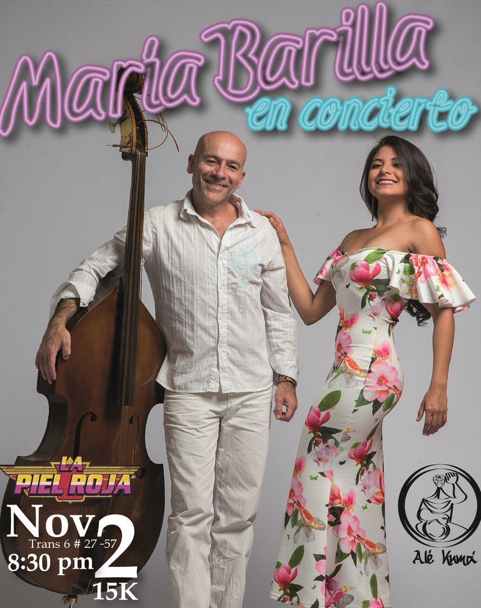 Recital con las canciones de #MaríaBarilla de Leonardo @GomezJattin. Nov2 en @LaPielRojaBta Tr6#27-57 2437210 Con Alé Kumá @ cantaoras K15. https://t.co/Us0CueURBf