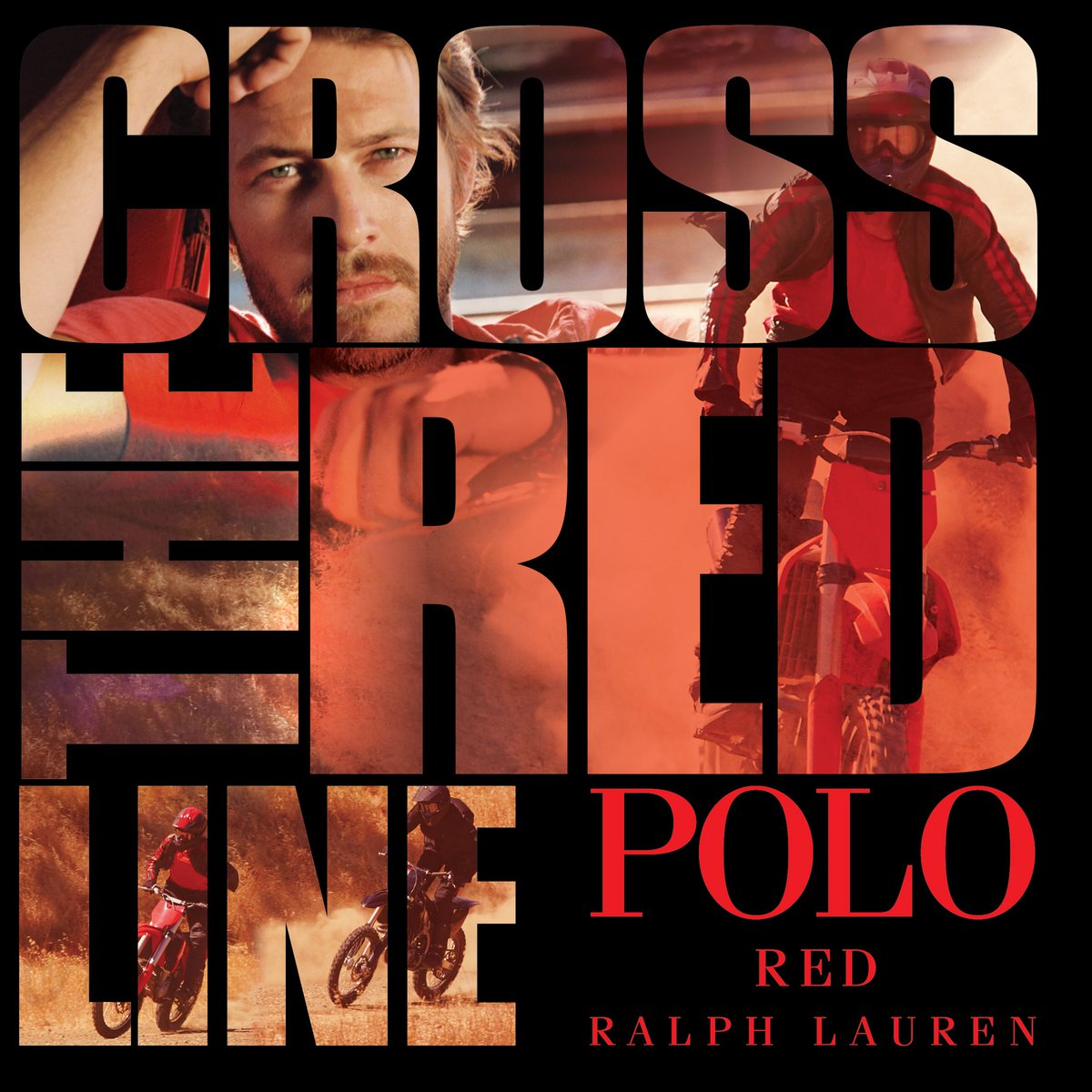 Cross the red line with the new #PoloRed by @RalphLauren Fragrances #ad