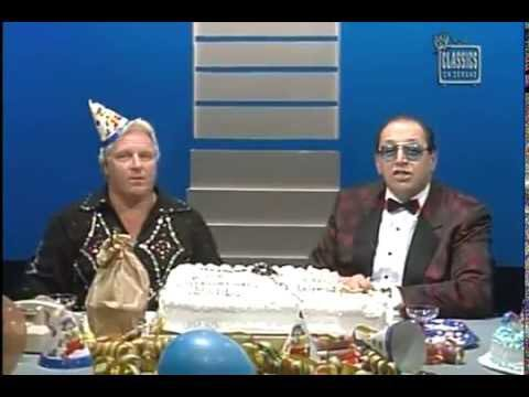 Today would have been Bobby Heenan\s 73rd birthday. Happy Birthday Brain!