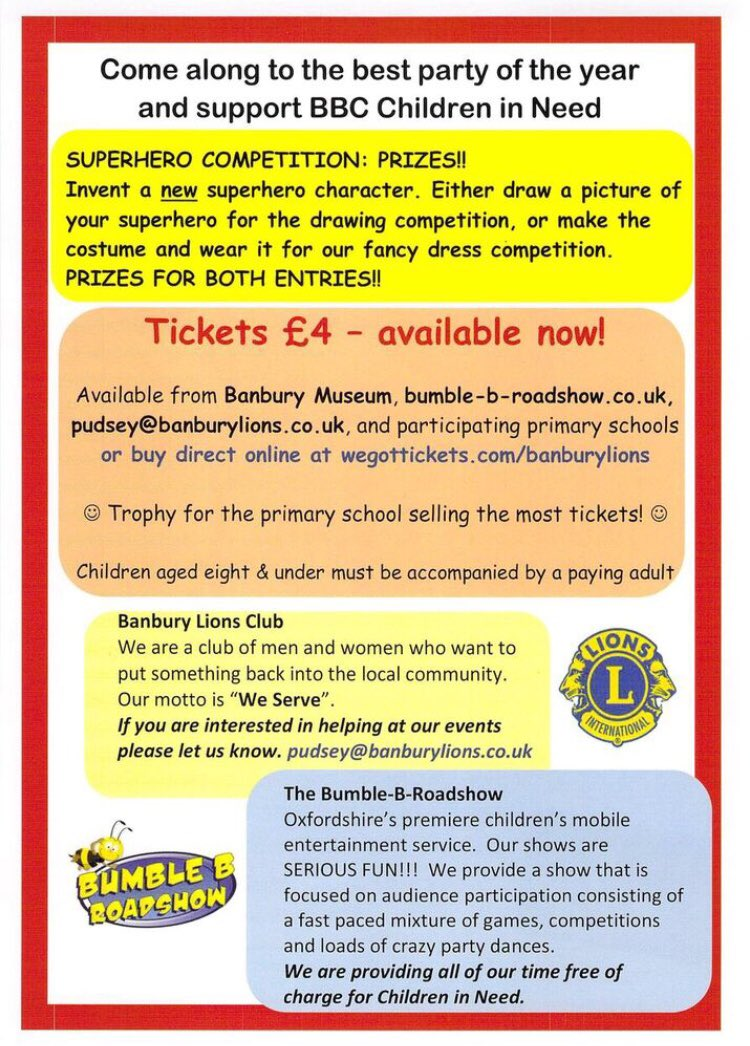 Banbury Lions Club on Twitter: